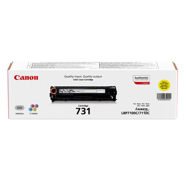 Картридж для лазерного принтера Canon 731 Y цена