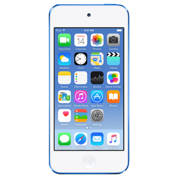 Плеер MP3 Apple iPod Touch 32GB Blue (MKHV2) перкуссия и пэд millenium mps 400 stereo snare pad