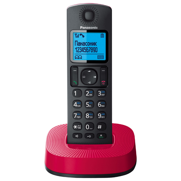 Телефон DECT Panasonic KX-TGC310RUR радиотелефон panasonic kx tgc 310 rur kx tgc 310 rur
