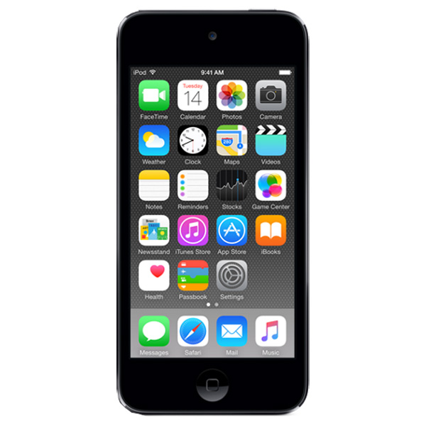 Плеер MP3 Apple iPod Touch 6 32GB Space Gray (MKJ02) виброяйцо 4 5см фиолет