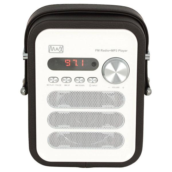 Радиоприемник MAX MR-330 max мультимидийная аудио система mr 280 черная