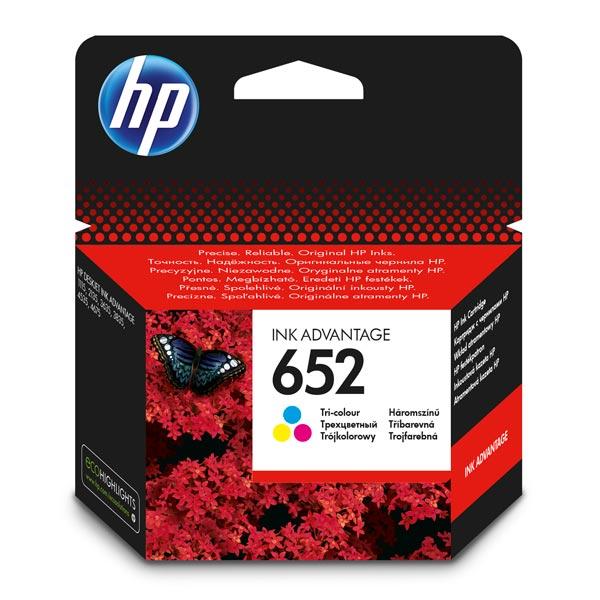 Картридж для струйного принтера HP F6V24AE BHK (№652)