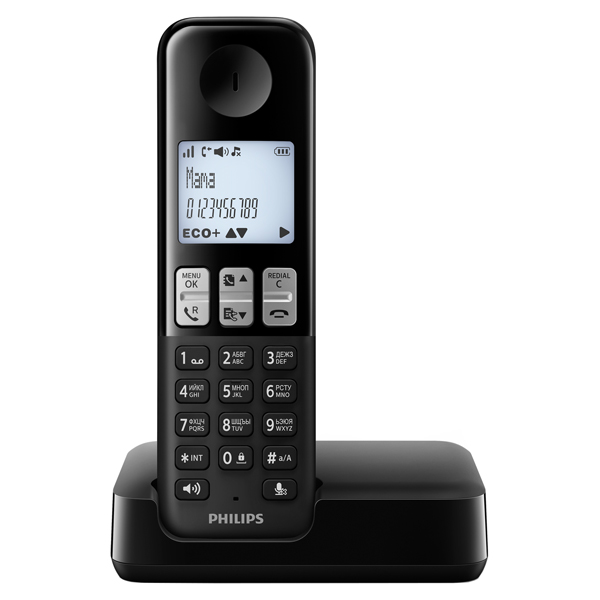 Телефон DECT Philips D2301B/51 samsung galaxy a5 2016 sm a510f black