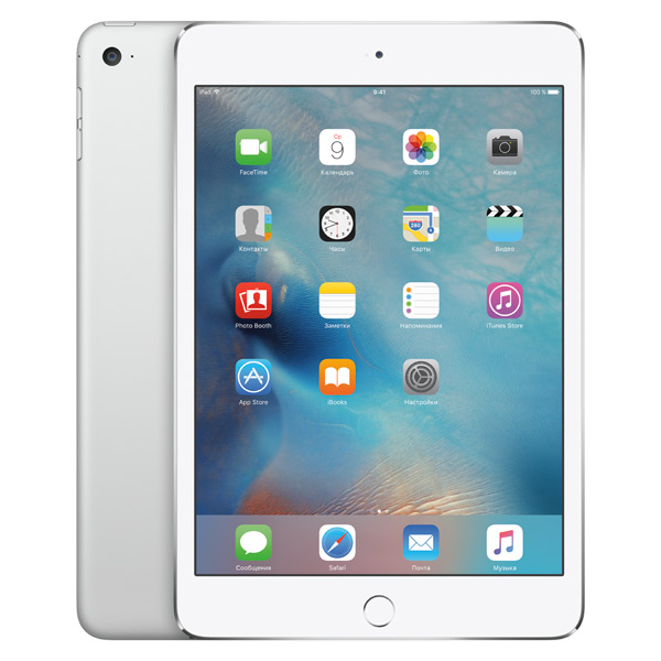 Планшет Apple iPad mini 4 Wi-Fi 128GB Silver (MK9P2RU/A) wholesale 10pcs 960p camera bulb light wireless ip camera wi fi fisheye mini kamera 360 panoramic home security system v380