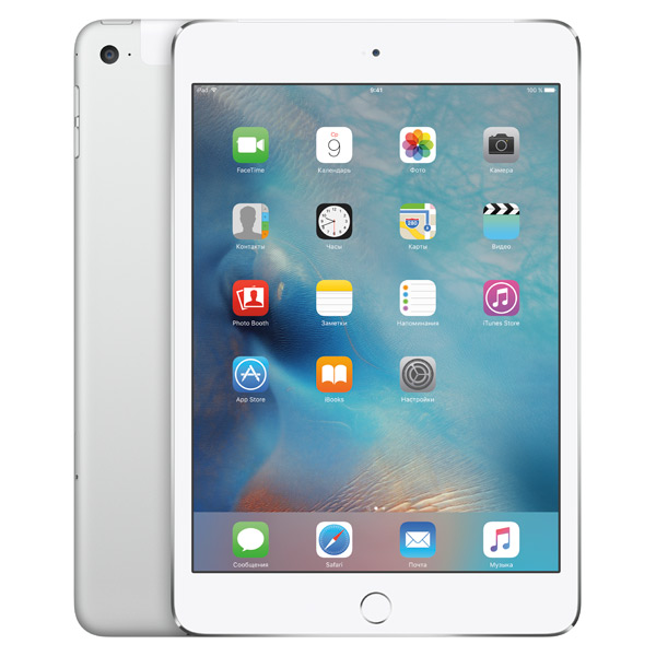 все цены на Планшет Apple iPad mini 4 Wi-Fi+Cellular 128GB Silver (MK772RU) онлайн