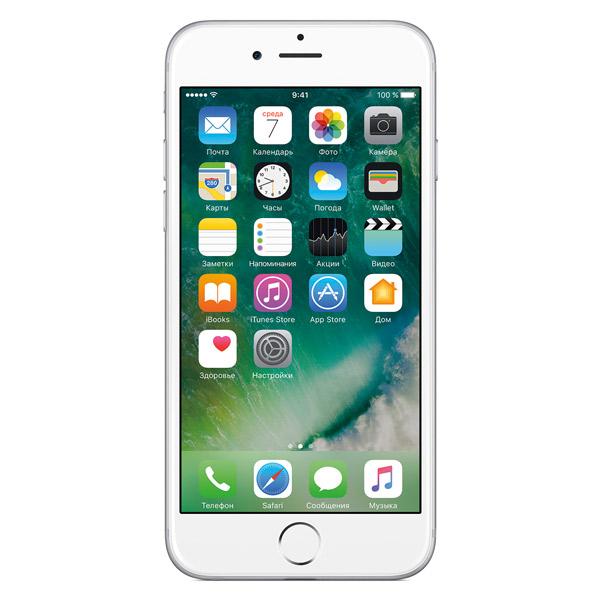 Смартфон Apple iPhone 6s 128GB Silver (MKQU2RU/A)