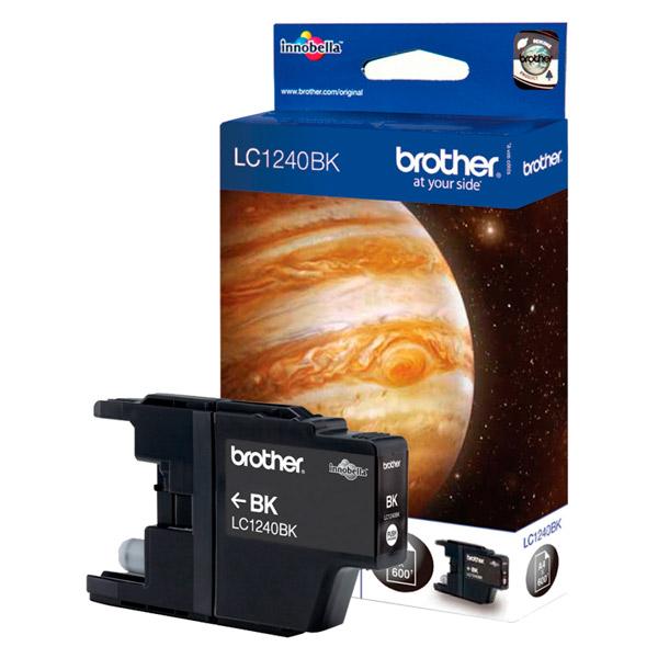 Картридж для струйного принтера Brother LC1240BK картридж для принтера brother lc1240bk black