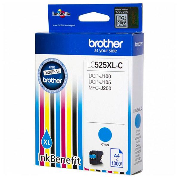 Картридж для струйного принтера Brother LC525XL-C