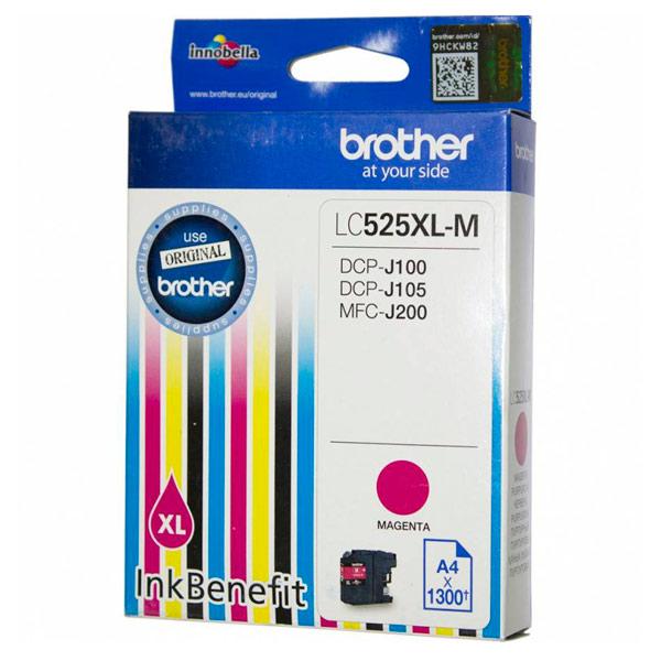 Картридж для струйного принтера Brother LC525XL-M