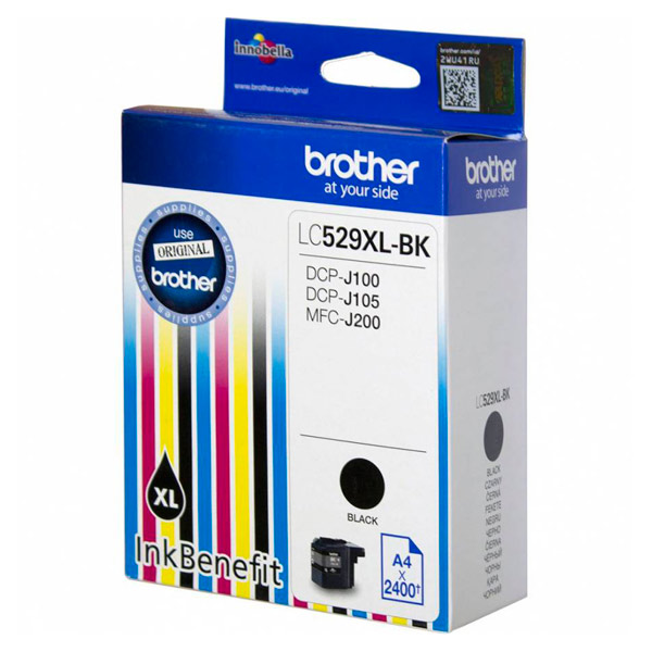 Картридж для струйного принтера Brother LC529XL-BK