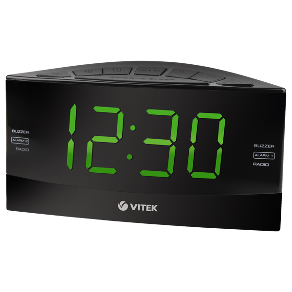 Радио-часы VITEK VT-6603 BK радио часы vitek радио часы vitek vt 3521 вк