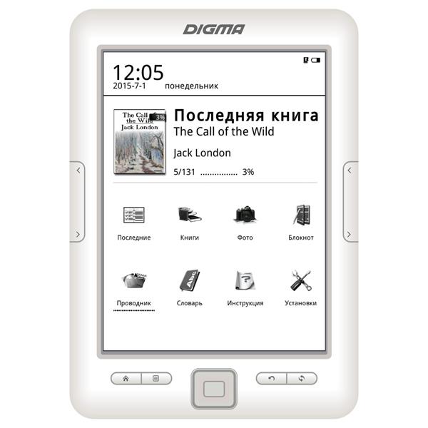 a556bf1580e6 Купить Электронная Книга Digma E629W в каталоге интернет магазина М ...