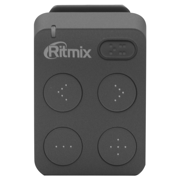 Портативный медиаплеер Ritmix RF-2500 8Gb Dark Gray ritmix ritmix rf 7200 фиолетовый 4гб