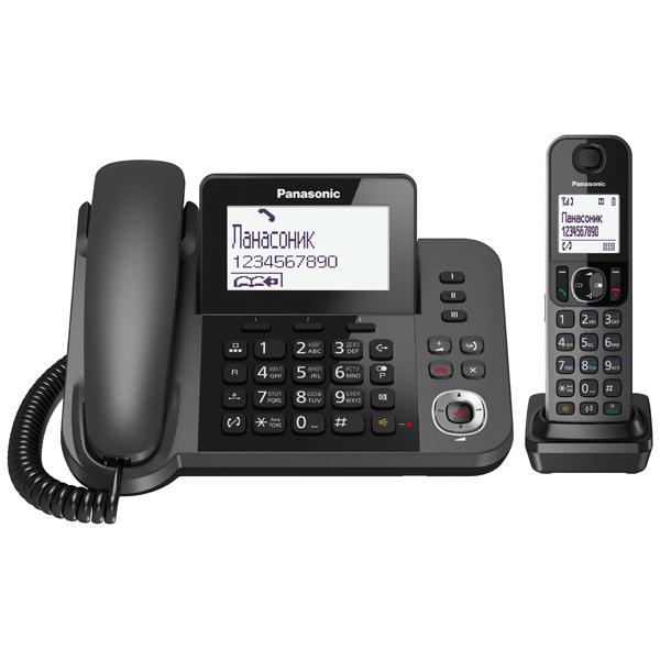 Телефон DECT Panasonic KX-TGF320RUM телефон panasonic kx dt546rub черный