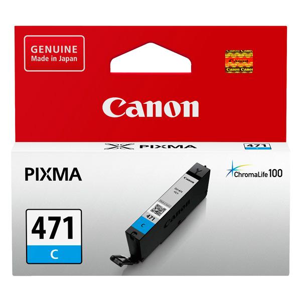 Картридж для струйного принтера Canon CLI-471 C картридж для струйного принтера canon cli 471 multipack c m y bk