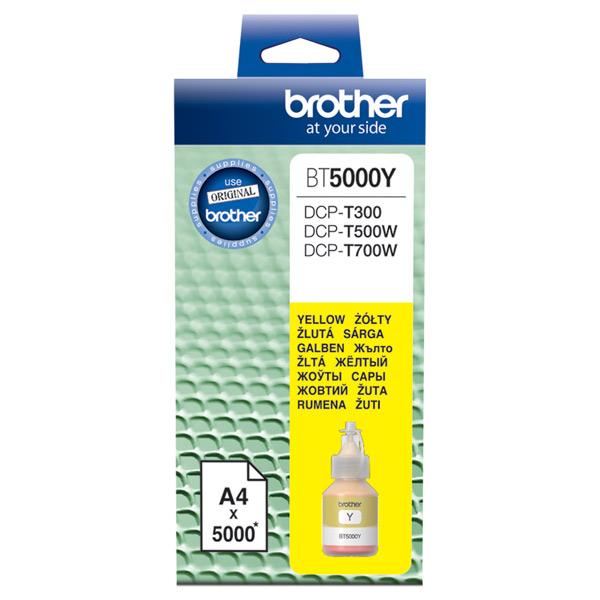 Чернила для принтера Brother — BT5000Y