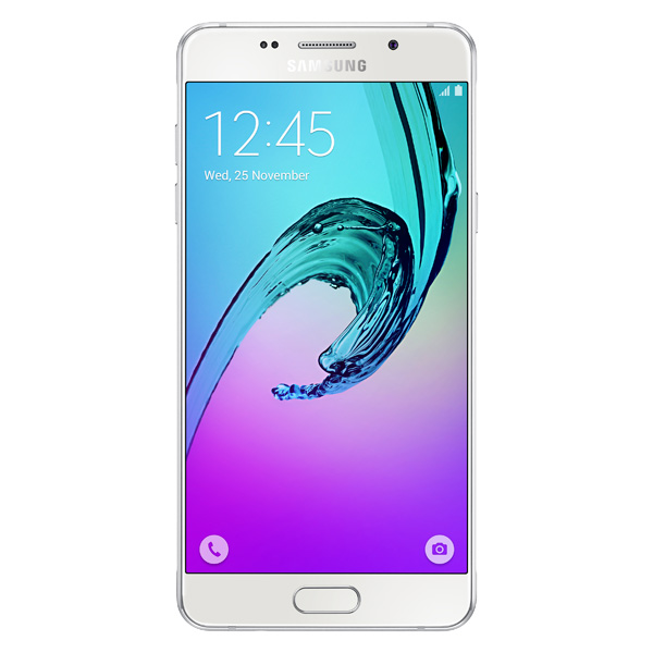 Смартфон Samsung Galaxy A5 (2016) White (SM-A510F) чехол для samsung galaxy a5 2016 sm a510f acqua wallet extra золотистый