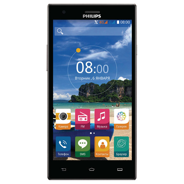 Philips, Смартфон, S616 Dark Grey