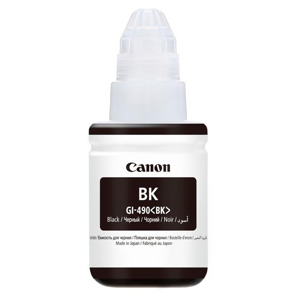 Чернила для принтера Canon GI-490 BK черного цвета