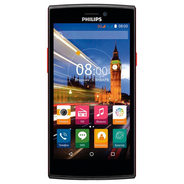 Смартфон Philips S337 Black+Red смартфон philips s337 8712581736538