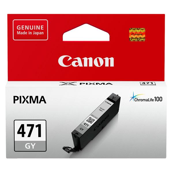 Картридж для струйного принтера Canon CLI-471 GY картридж canon cli 42lgy для pro 100 серый 835 фотографий