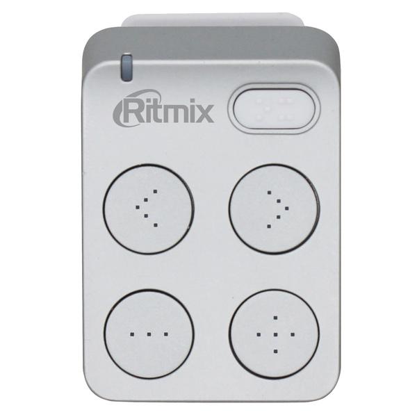 Портативный медиаплеер Ritmix RF-2500 8Gb Silver ritmix ritmix rf 7200 фиолетовый 4гб