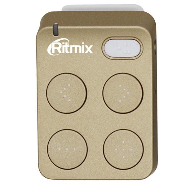 Портативный медиаплеер Ritmix RF-2500 8Gb Gold flash mp3 плеер ritmix rf 2500 8gb gold