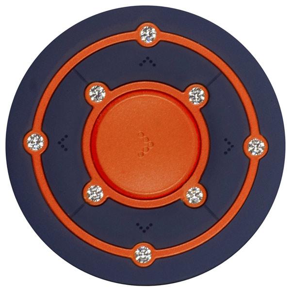 Портативный медиаплеер Ritmix RF-2850 8Gb Orange/Blue ritmix ritmix rf 7200 фиолетовый 4гб