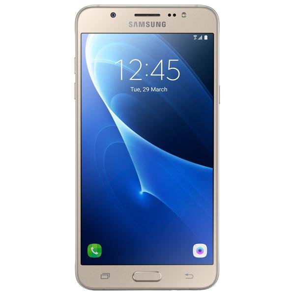 Смартфон Samsung Galaxy J7 (2016) Gold (SM-J710FN) samsung galaxy j7 2016 j710 gold sm j710fzduser