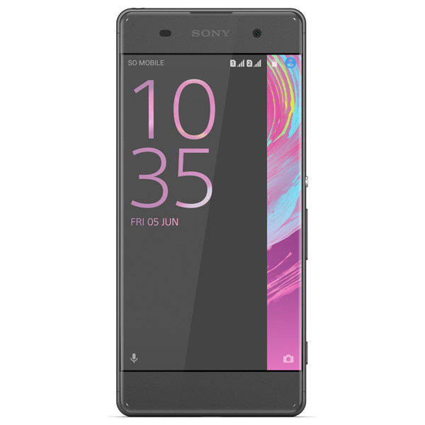 Смартфон Sony Xperia XA Graphite Black 4G LTE (F3111) цена и фото