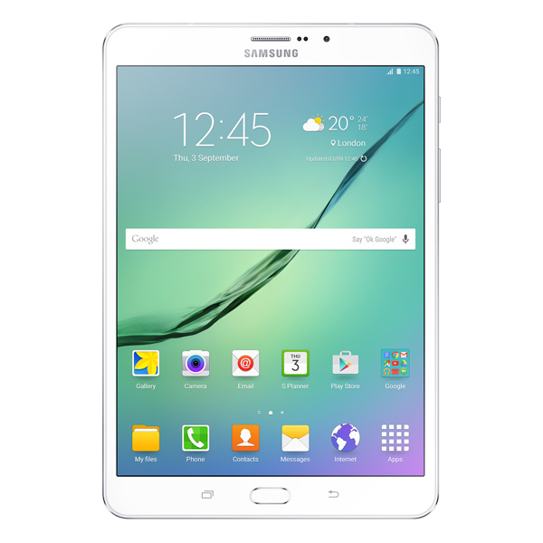 Планшет Samsung Galaxy Tab S2 8 32Gb LTE White (SM-T719) планшет samsung sm t719n galaxy tab s2 8 0 32gb lte black sm t719nzkeser qualcomm snapdragon 652 1 8 ghz 3072mb 32gb wi fi bluetooth cam 8 0 2048x1536 android