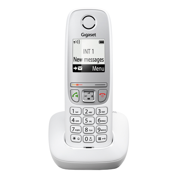 Телефон DECT Gigaset A415 White gigaset a415 trio black