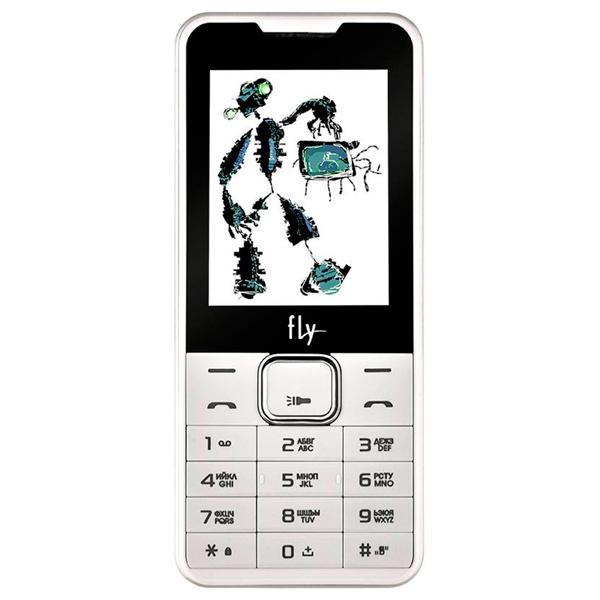 Мобильный телефон Fly FF243 White стоимость