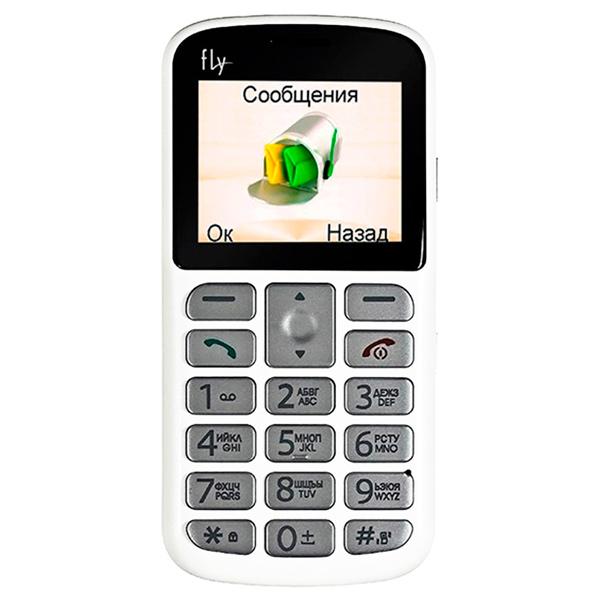 Мобильный телефон Fly Ezzy 8 White карты памяти