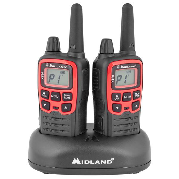 Радиостанция Midland XT60 (2 штуки) радиостанция портативная midland xt60