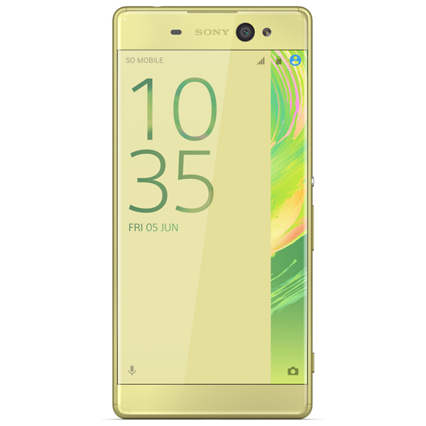 Смартфон Sony Xperia XA Ultra Lime Gold (F3211) смартфон sony xperia xa ultra lime gold android 6 0 marshmallow mt6755 2000mhz 6 0 1920x1080 3072mb 16gb 4g lte [f3211lime gold]