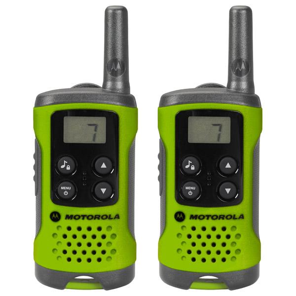 Радиостанция Motorola TLKR-T41 Green (2шт) + Подарок радиостанция motorola tlkr t41
