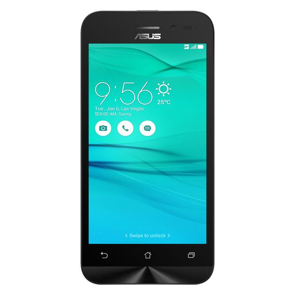 Смартфон ASUS Zenfone Go ZB452KG 8Gb Black (1A052RU) клавиатура asus strix tactic pro cherry mx black black usb 90yh0081 b2ra00