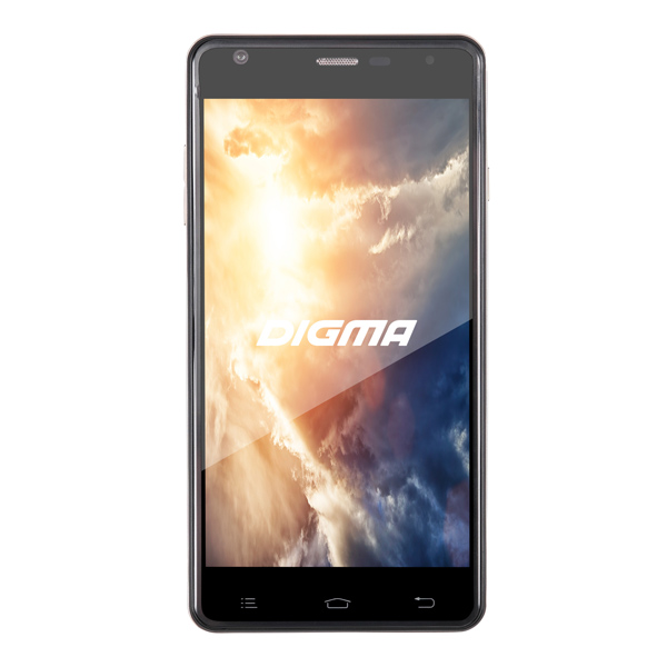 Смартфон Digma VOX S501 3G 8Gb Graphite digma vox flash 4g