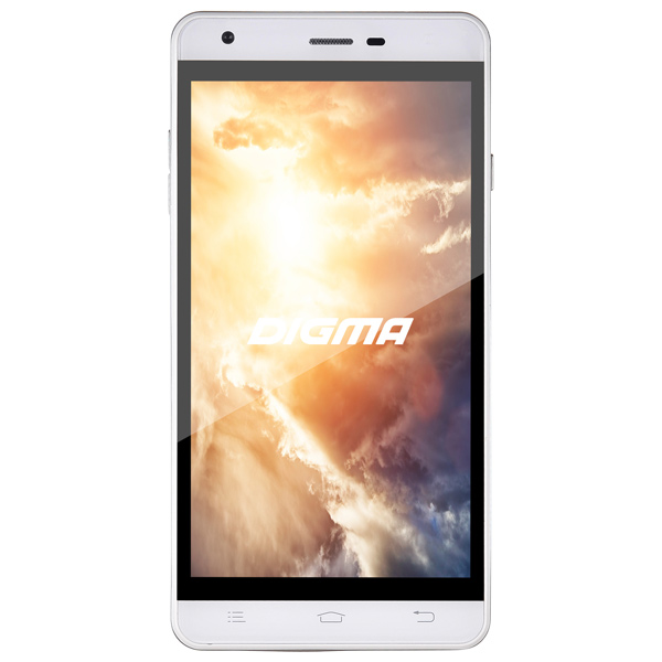 Смартфон Digma VOX S501 3G 8Gb White digma vox flash 4g