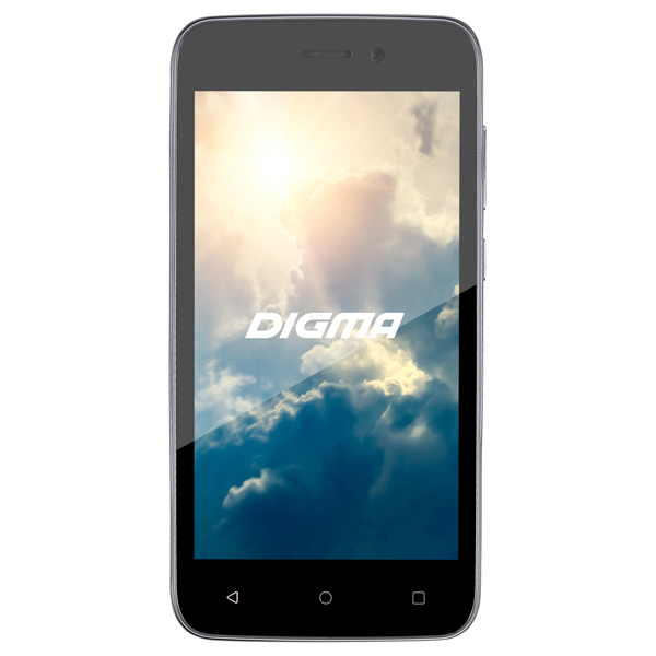 Смартфон Digma VOX G450 3G 8Gb Graphite digma vox flash 4g