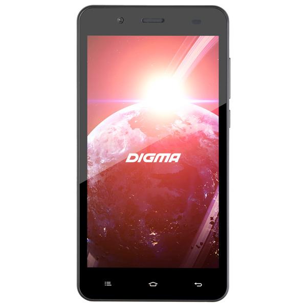 Смартфон Digma Linx C500 3G 4Gb Graphite планшет digma plane 1601 3g ps1060mg black