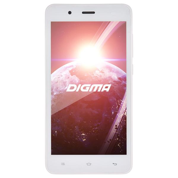 Смартфон Digma Linx C500 3G 4Gb White планшет digma plane 1601 3g ps1060mg black