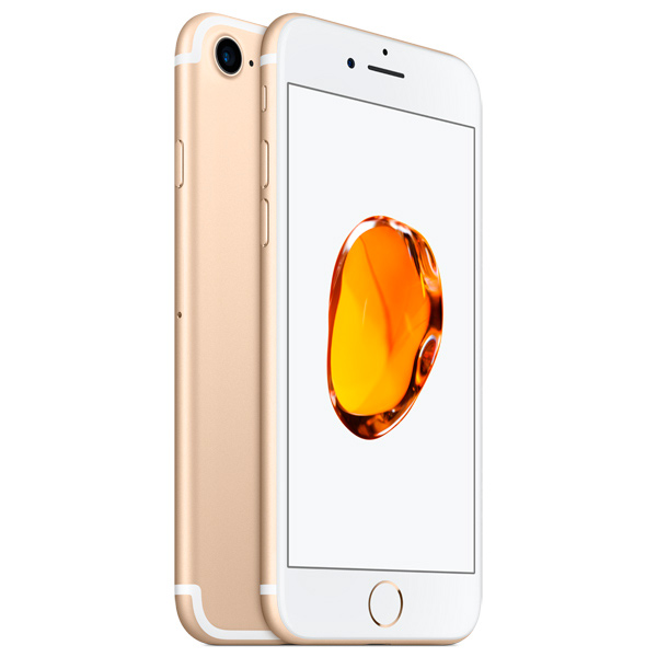 Смартфон Apple iPhone 7 128Gb Gold (MN942RU/A) телефон apple iphone 7 128gb a1778 как новый gold