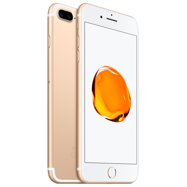 Смартфон Apple iPhone 7 Plus 128Gb Gold (MN4Q2RU/A) телефон apple iphone 7 128gb a1778 как новый gold