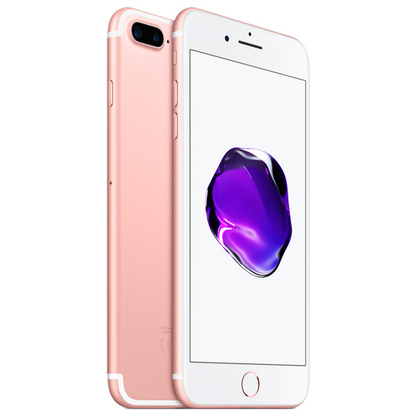 Смартфон Apple iPhone 7 Plus 128Gb Rose Gold (MN4U2RU/A) телефон apple iphone 7 128gb a1778 как новый gold