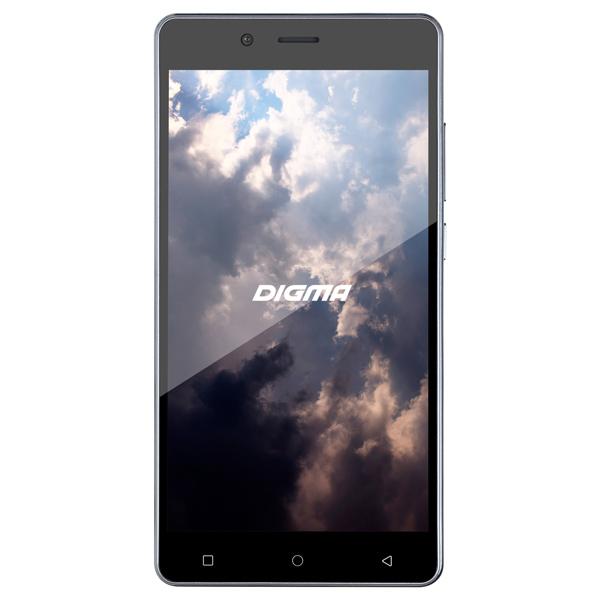 Смартфон Digma VOX S502F 3G 8Gb Grey смартфон digma vox g500 3g 8gb черный vs5027mg