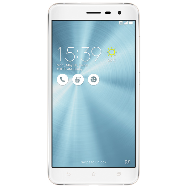 Смартфон ASUS ZenFone 3 ZE552KL 64Gb White (1B054RU) asus zenfone zoom zx551ml 128gb 2016 black