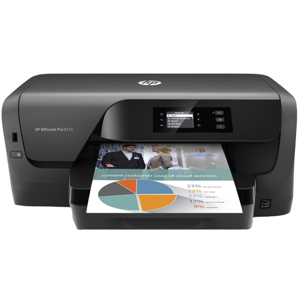 HP, Струйный принтер, OfficeJet Pro 8210