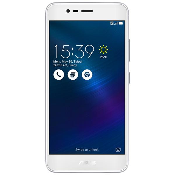 Смартфон ASUS Zenfone 3 Max ZC520TL 16Gb Silver (4J019RU) смартфон asus zenfone 3 max zc520tl 4g 16gb silver